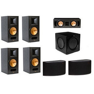 Klipsch RB 81 II 71 Surround Speaker Package With RC 52 Center R 14S Speakers And SW 311 Subwoofer