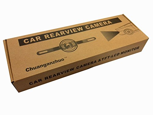 """Backup Camera and Monitor Kit For Car,Chuanganzhuo Universal Waterproof 170° Rear-view License Plate Car Rear Backup Parking Camera with 7 LED Night Vision+ 4.3"""" TFT LCD Adjustable Rear View Monitor ScreenBackup Camera and Monitor Kit For Car,Chuanganzhuo Universal Waterproof 170° Rear-view License Plate Car Rear Backup Parking Camera with 7 LED Night Vision+ 4.3"""" TFT LCD Adjustable Rear View Monitor Screen - 해외직구는 플라이굿! 빠르고 저렴한 해외쇼핑Backup Camera and Monitor Kit For Car,Chuanganzhuo Universal Waterproof 170° Rear-view License Plate Car Rear Backup Parking Camera with 7 LED Night Vision+ 4.3"""" TFT LCD Adjustable Rear View Monitor Screen - 웹"""